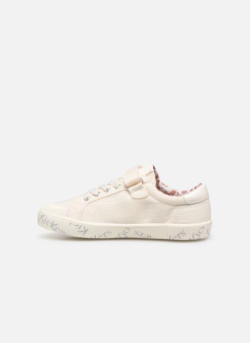 Sneakers Kickers Gody Wit voorkant
