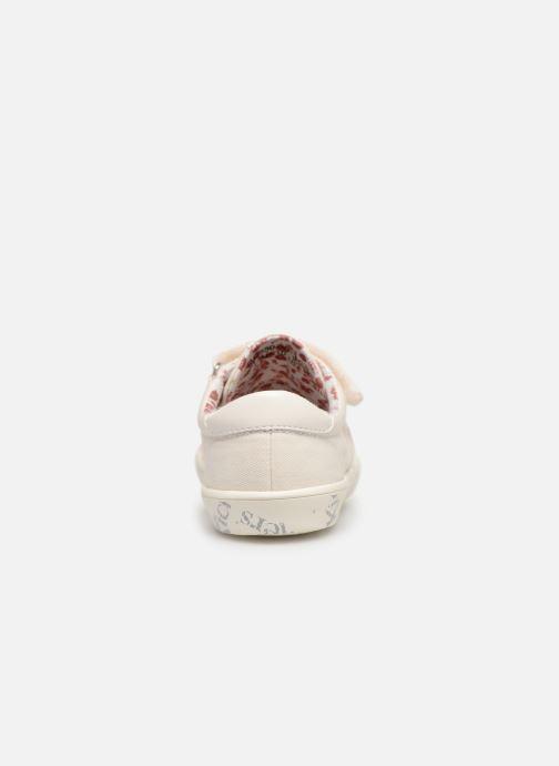 Sneakers Kickers Gody Wit rechts
