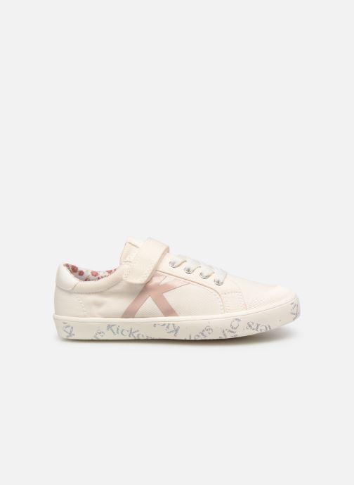 Sneakers Kickers Gody Wit achterkant