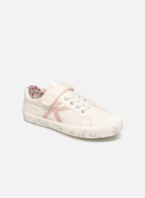 Sneakers Kickers Gody Wit detail