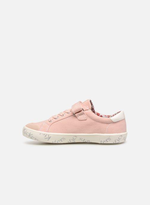 Sneakers Kickers Gody Roze voorkant