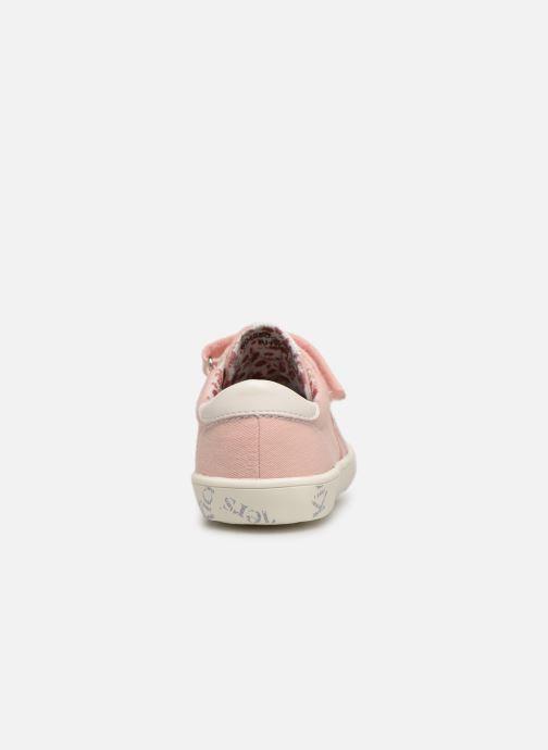 Sneakers Kickers Gody Roze rechts