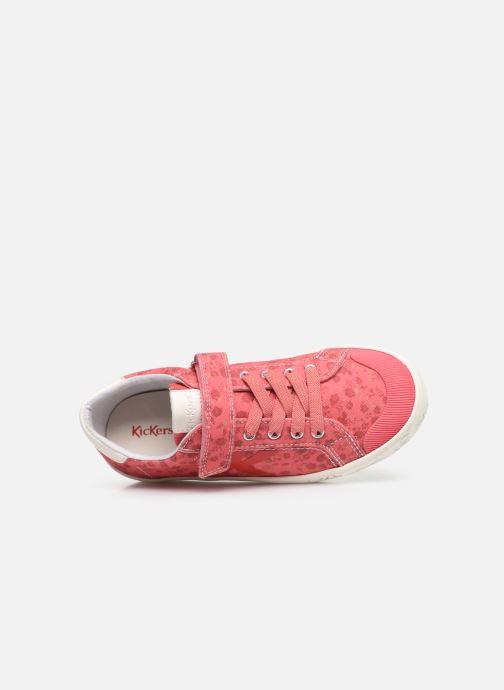Sneakers Kickers Gody Pink se fra venstre