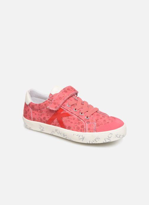 Sneakers Kickers Gody Pink detaljeret billede af skoene