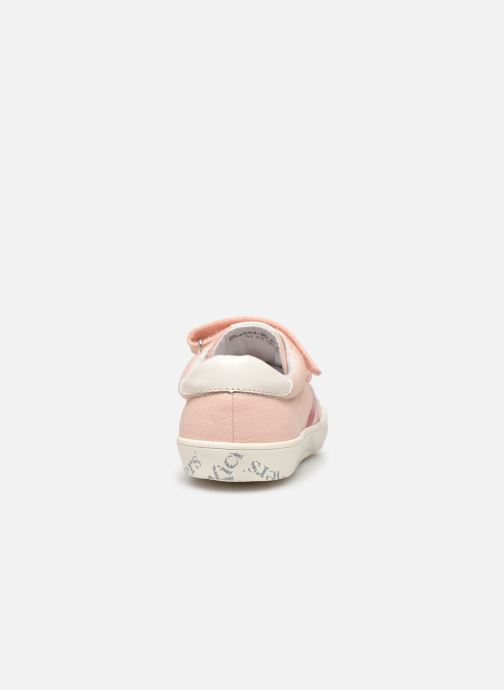 Baskets Kickers Gody Rose vue droite