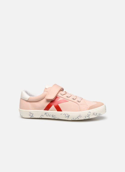 Sneakers Kickers Gody Roze achterkant