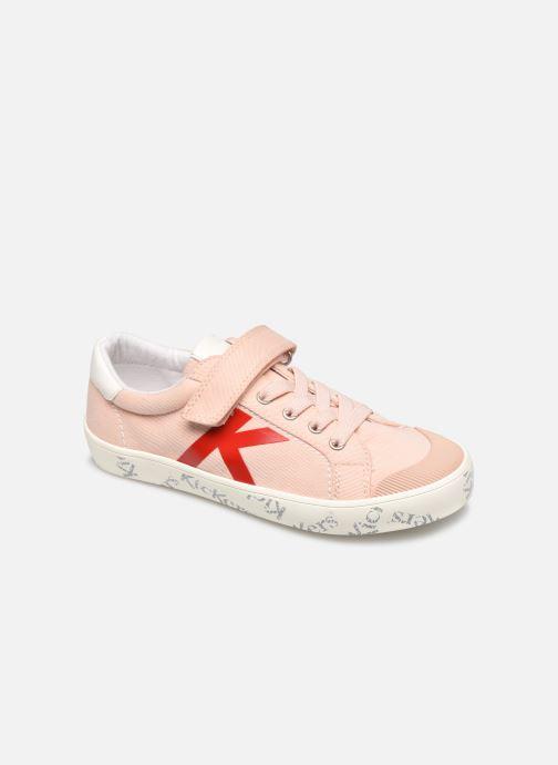 Sneakers Kickers Gody Roze detail