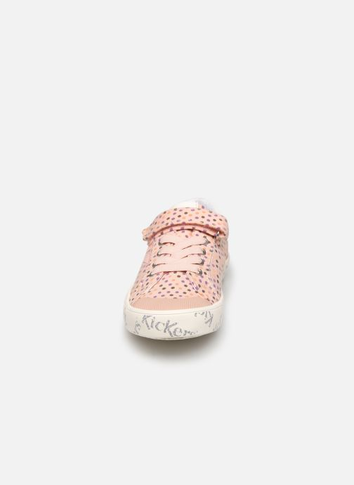 Baskets Kickers Gody Rose vue portées chaussures
