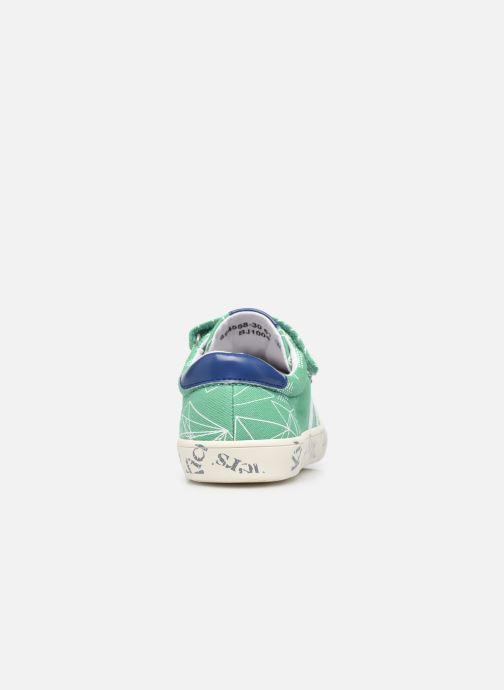 Sneakers Kickers Gody Verde immagine destra