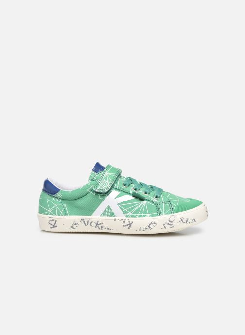 Sneakers Kickers Gody Verde immagine posteriore