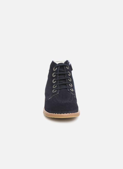 Bottines et boots Kickers Kouklegend Bleu vue portées chaussures