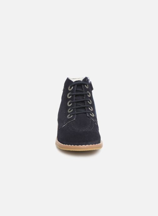 Stiefeletten & Boots Kickers Kouklegend blau schuhe getragen