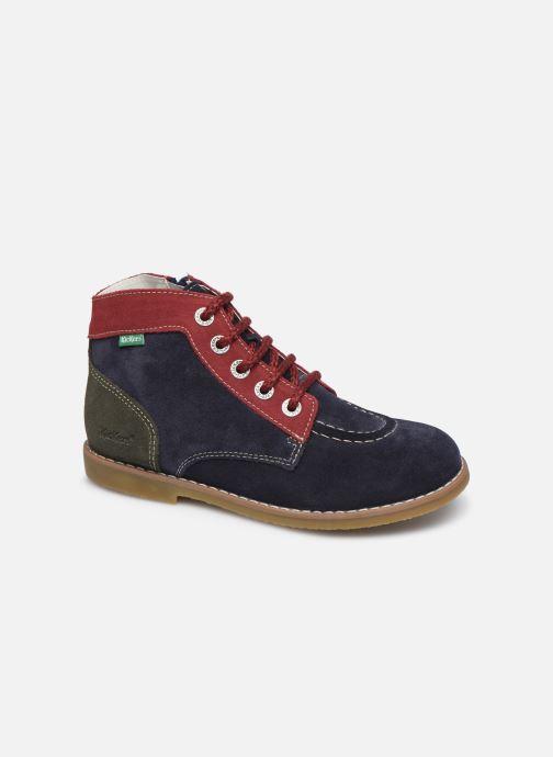 Bottines et boots Kickers Kouklegend Bleu vue détail/paire