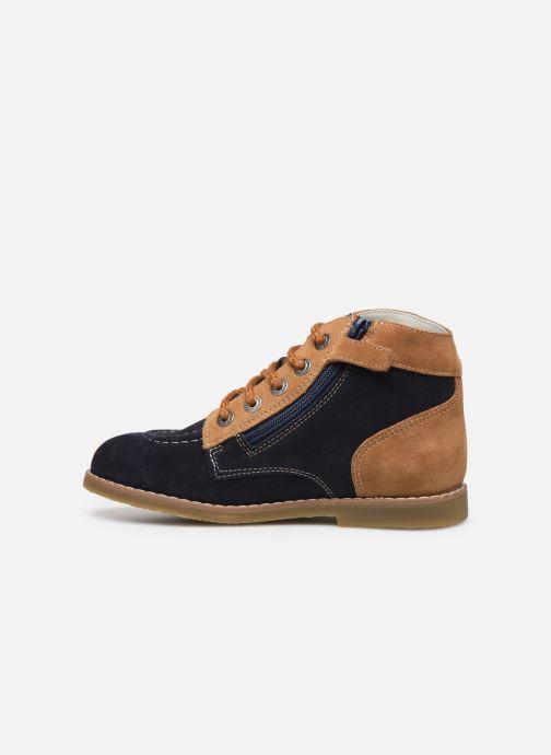 Bottines et boots Kickers Kouklegend Bleu vue face