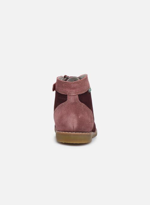 Bottines et boots Kickers Kouklegend Violet vue droite