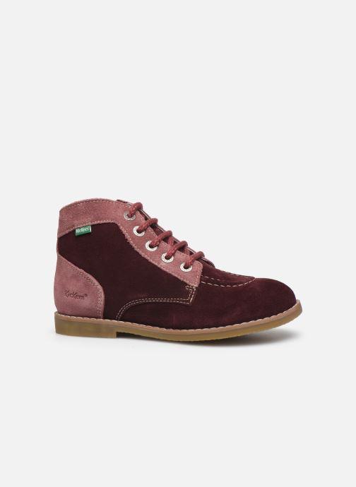 Boots en enkellaarsjes Kickers Kouklegend Paars achterkant