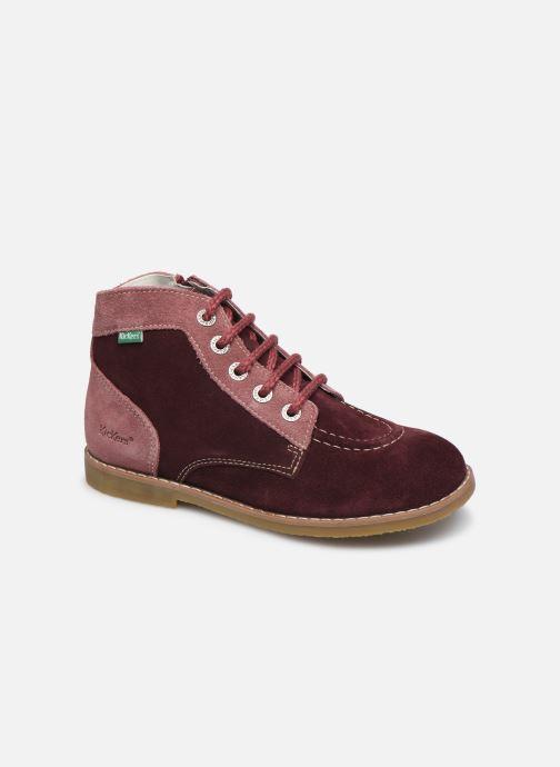 Bottines et boots Kickers Kouklegend Violet vue détail/paire