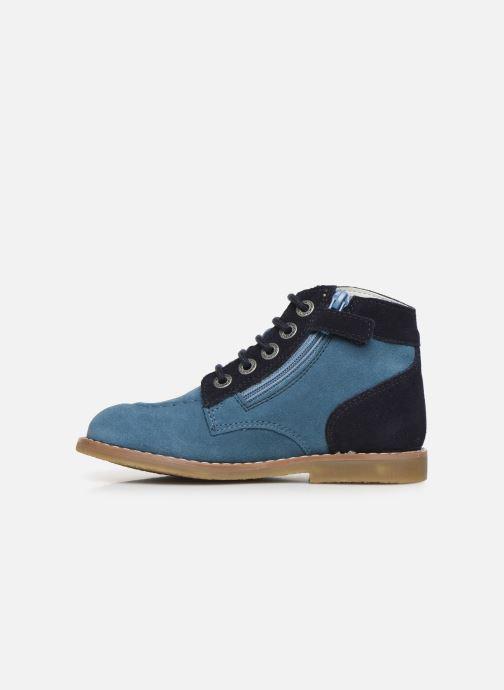 Boots en enkellaarsjes Kickers Kouklegend Blauw voorkant