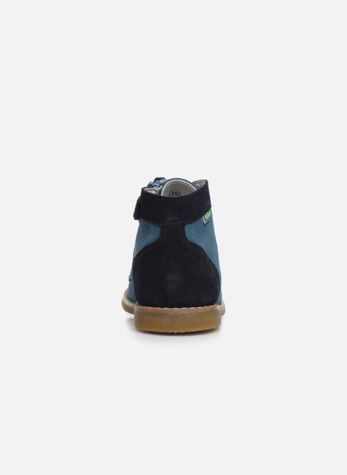 Boots en enkellaarsjes Kickers Kouklegend Blauw rechts