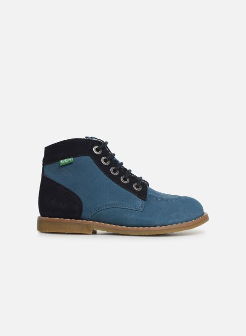Bottines et boots Kickers Kouklegend Bleu vue derrière