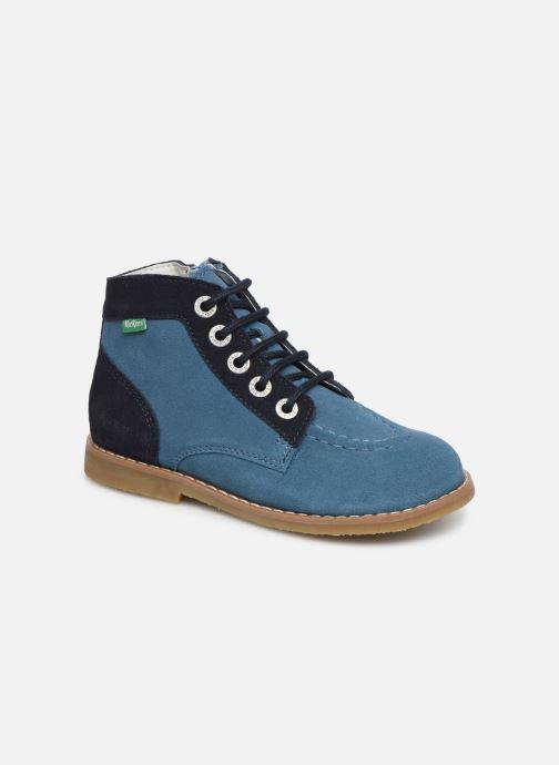 Ankelstøvler Kickers Kouklegend Blå detaljeret billede af skoene