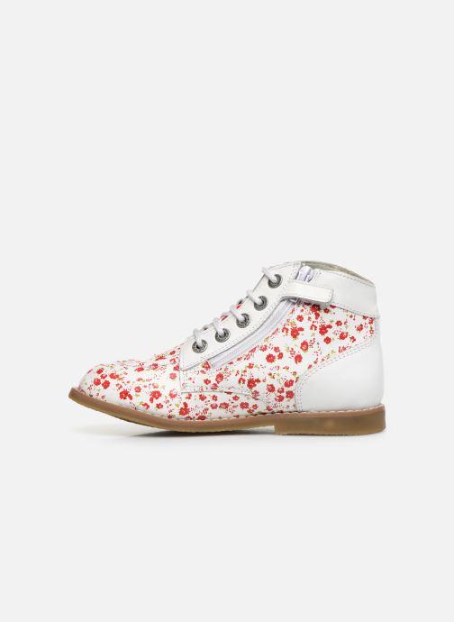 Bottines et boots Kickers Kouklegend Blanc vue face