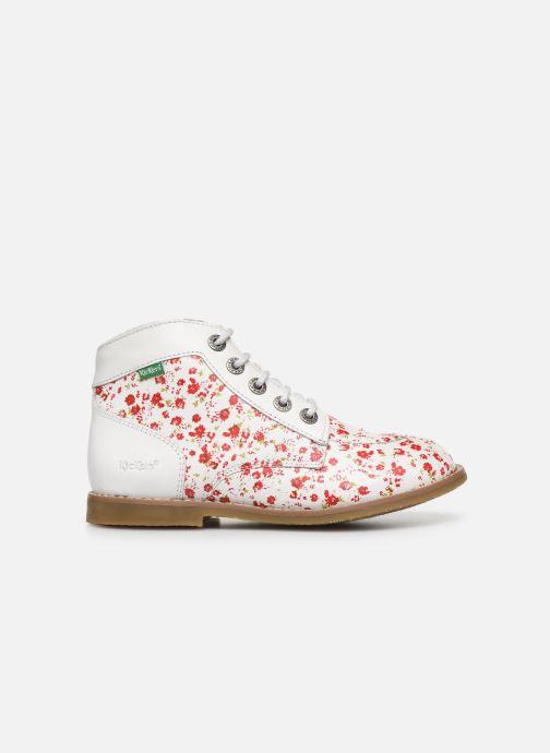 Bottines et boots Kickers Kouklegend Blanc vue derrière