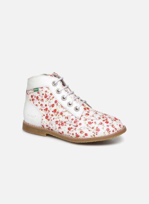 Bottines et boots Kickers Kouklegend Blanc vue détail/paire