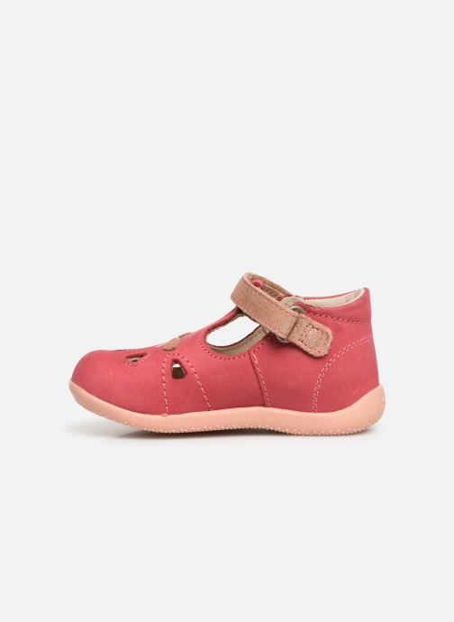 Ballerines Kickers Blumiz Rose vue face