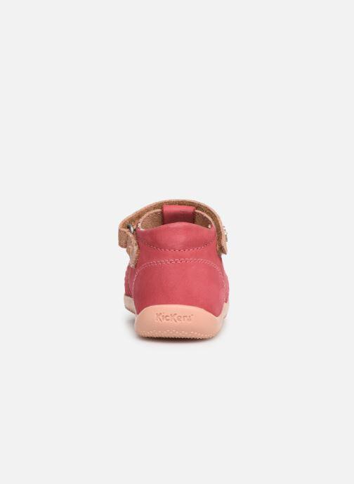 Ballerina's Kickers Blumiz Roze rechts