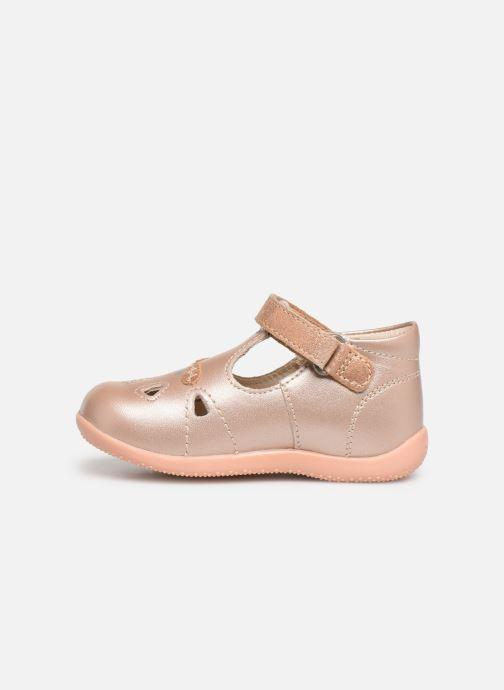 Ballerina's Kickers Blumiz Roze voorkant