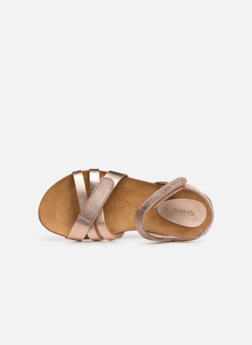 Sandali e scarpe aperte Kickers Bogart Argento immagine sinistra