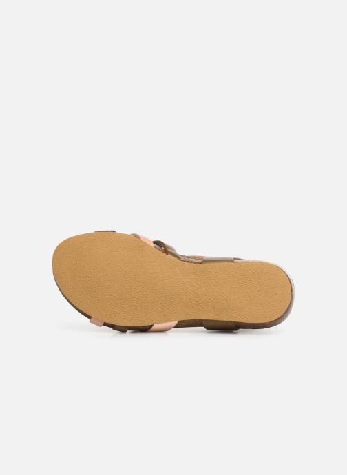 Sandalen Kickers Bogart Zilver boven