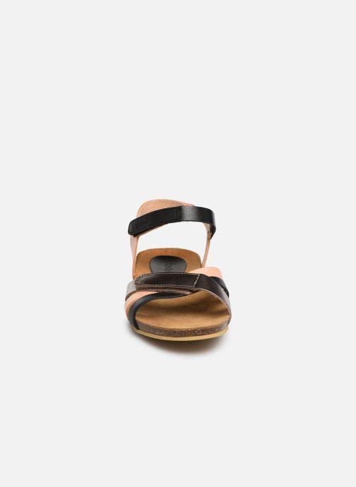 Sandales et nu-pieds Kickers Bogart Multicolore vue portées chaussures
