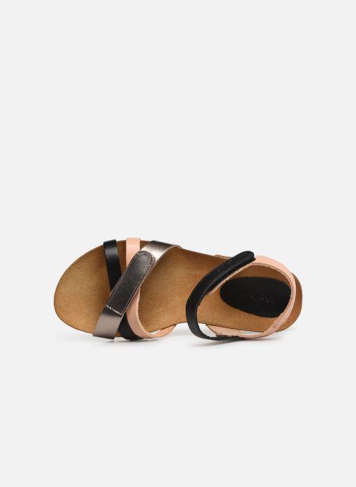 Sandales et nu-pieds Kickers Bogart Multicolore vue gauche