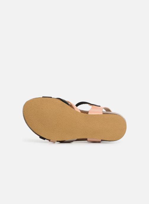Sandales et nu-pieds Kickers Bogart Multicolore vue haut