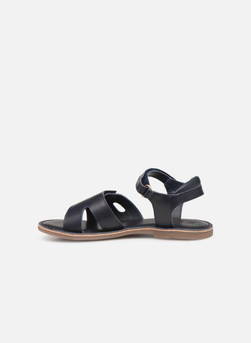 Sandalen Kickers Dimoi Blauw voorkant