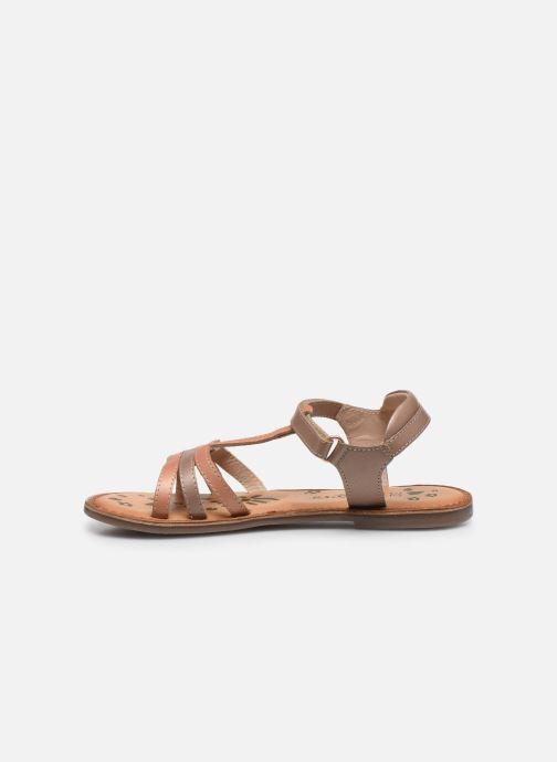 Sandali e scarpe aperte Kickers Diamanto Rosa immagine frontale