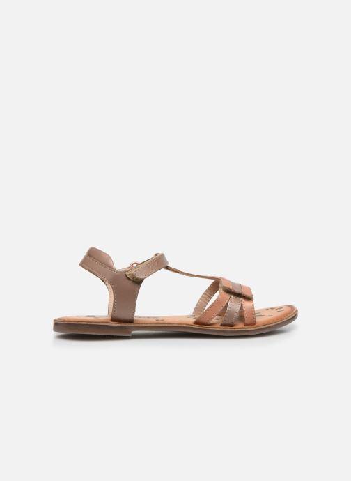 Sandali e scarpe aperte Kickers Diamanto Rosa immagine posteriore