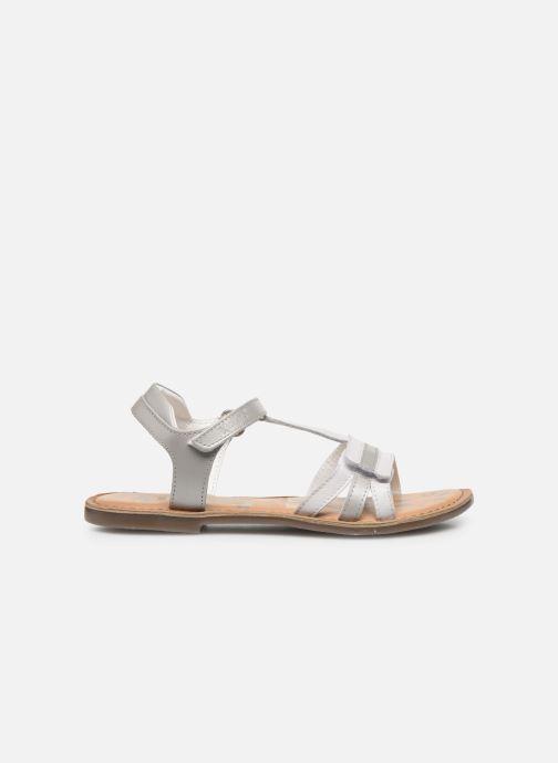 Sandales et nu-pieds Kickers Diamanto Blanc vue derrière