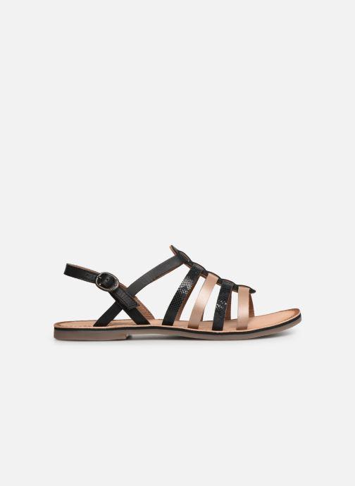 Sandales et nu-pieds Kickers Dixon Noir vue derrière