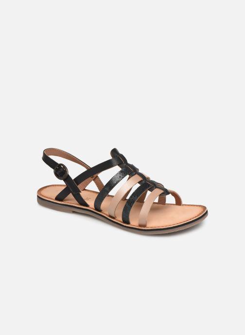 Sandales et nu-pieds Kickers Dixon Noir vue détail/paire
