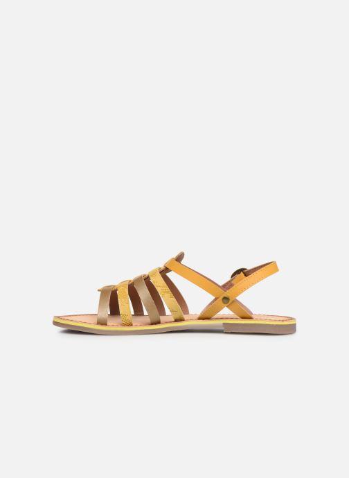 Sandalen Kickers Dixon Geel voorkant