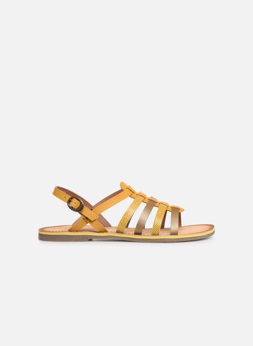 Sandalen Kickers Dixon Geel achterkant