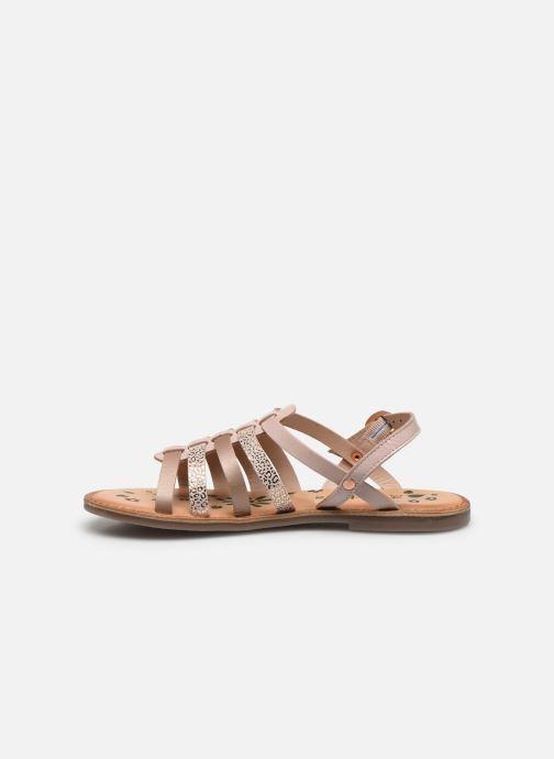 Sandali e scarpe aperte Kickers Dixon Rosa immagine frontale