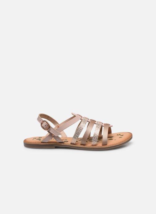 Sandali e scarpe aperte Kickers Dixon Rosa immagine posteriore