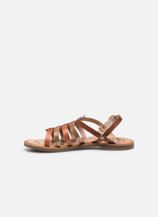 Sandali e scarpe aperte Kickers Dixon Marrone immagine frontale