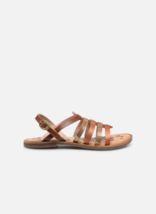 Sandali e scarpe aperte Kickers Dixon Marrone immagine posteriore