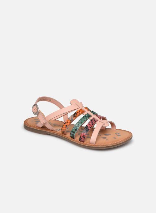 Sandales et nu-pieds Kickers Dixon Rose vue détail/paire