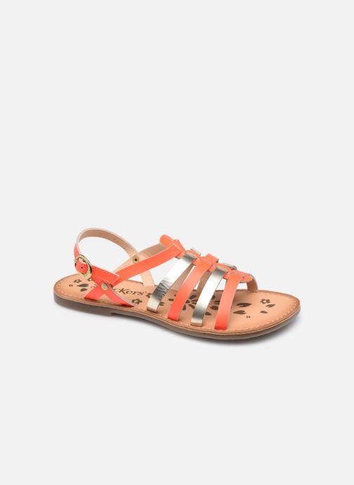 Sandalen Kickers Dixon orange detaillierte ansicht/modell